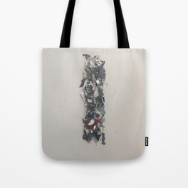 Letter I in Paint Tote Bag
