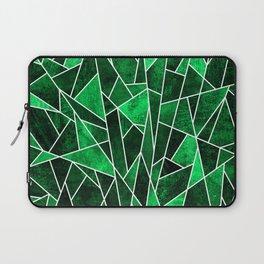 Shattered Emerald Laptop Sleeve
