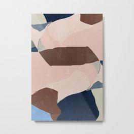 Start Over BA09 Abstract Art Metal Print