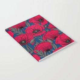 Night poppy garden  Notebook