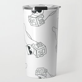 Like A Cat Boss Travel Mug