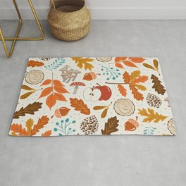 Autumn Woods Rug