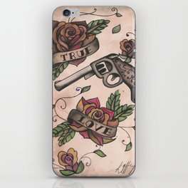The guns and the roses iPhone Skin