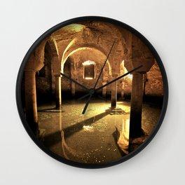 Underwater Crypt Wall Clock