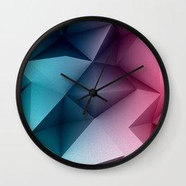 Polymetric Ocean Floor Wall Clock