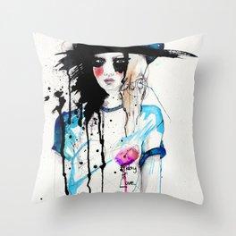 Friday Throw Pillow