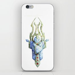 Blue Idol iPhone Skin