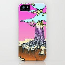 Acid Tree iPhone Case
