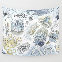 Tattoo Pattern Wall Tapestry