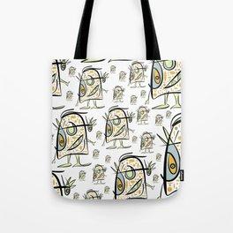 scribbleheads_Buddy Tote Bag