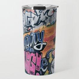 Side Walk Graffiti Street Art Travel Mug