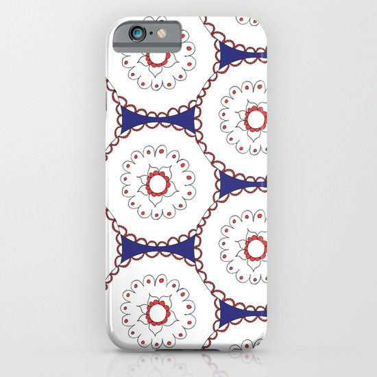 Kaleidoscope Circles iPhone & iPod Case