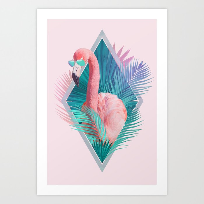 Discover the motif TROPICAL LEAVES by Robert Farkas as a print at TOPPOSTER