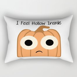 I Feel Hollow Inside Rectangular Pillow