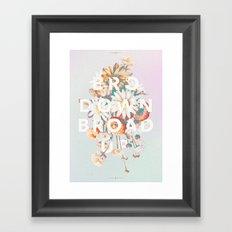 Bro Down, Broad Up Framed Art Print