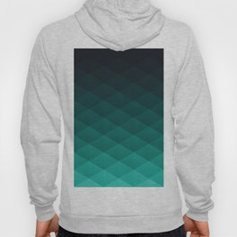 Graphic 869 // Grid Teal Fade Hoody