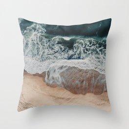 Sands of Gold Throw Pillow
