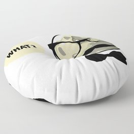 Moon - What? Floor Pillow