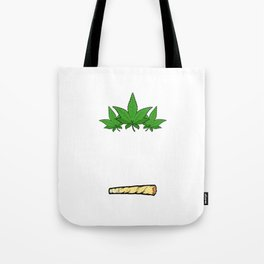 """A Nice Cannabis Tee For High Persons """"I'd Hit That"""" T-shirt Design Marijuana Medication Cigarette  Tote Bag"""