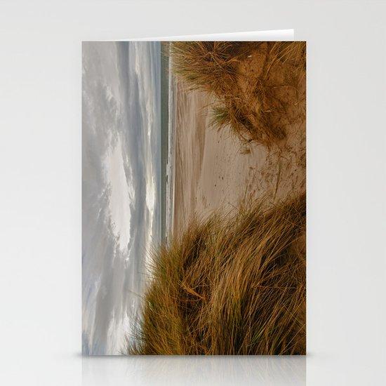 Bamburgh Beach Stationery Cards