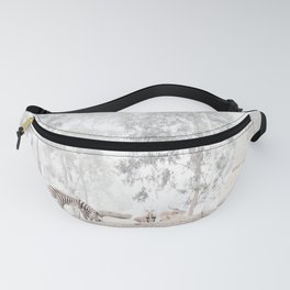 Zebras - through the mist Fanny Pack