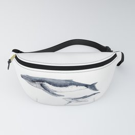 Humpback whale with calf Fanny Pack