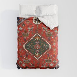 N65 - Colored Floral Traditional Boho Moroccan Style Artwork Comforters