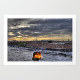 Barbecue Art Print