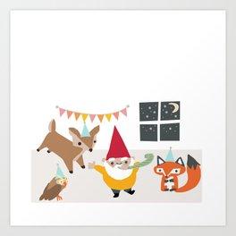 Party Hard! Art Print