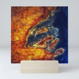 Earth Art Cave Ceiling Mini Art Print