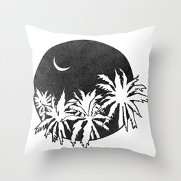 Vagabond Palm Throw Pillow