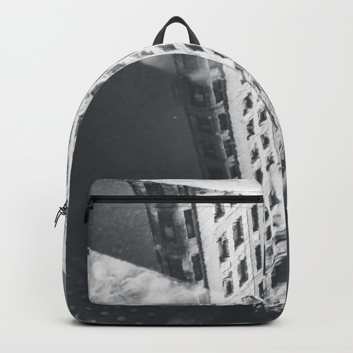 Flat Iron Building - NYC Reflection Backpack