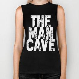 The Man Cave - inverse Biker Tank