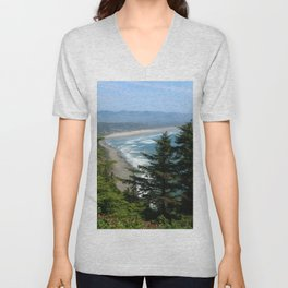 An Endless Costal View Unisex V-Neck