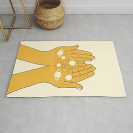 Space in My Hands Rug