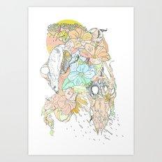seventeenth daydream Art Print