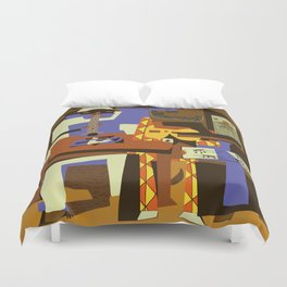 Picasso - The Musician Duvet Cover