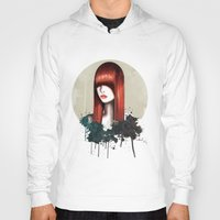 redhead Hoodies featuring The Redhead by Nettsch
