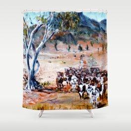 Homeward Bound, Qld. Australia           by Kay Lipton Shower Curtain