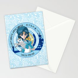 Sailor Mercury - Crystal Intro Stationery Cards