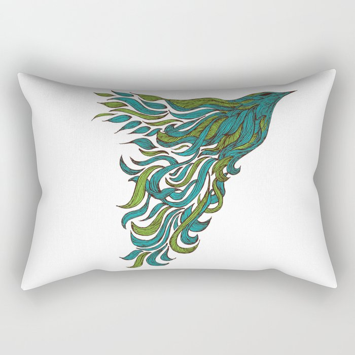 Dreams of Flying Rectangular Pillow