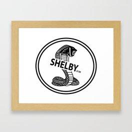 shelby GT500 design Framed Art Print