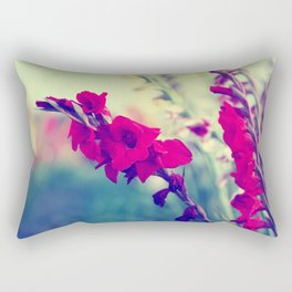 Design by Flowers Rectangular Pillow
