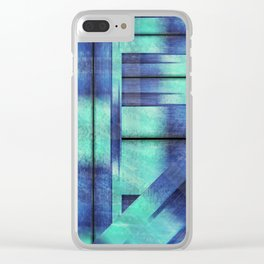 Fancy Fence Posts Clear iPhone Case