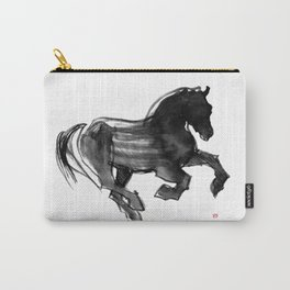 Horse (Devil cantering) Carry-All Pouch