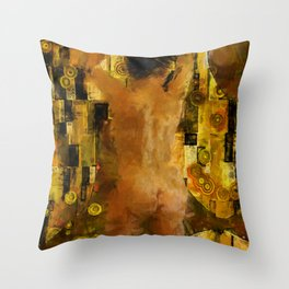 I'm Waiting for You (female) Throw Pillow