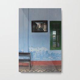 wistful wall Metal Print