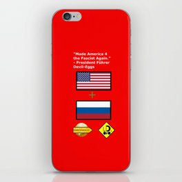 Made America 4 the Fascist Again iPhone Skin