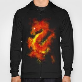FIRE DRAGON ABSTRACT Hoody