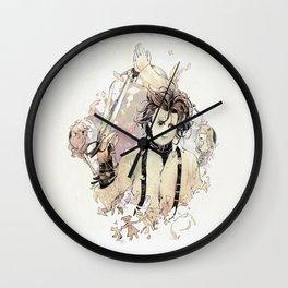Edward Scissorhands Wall Clock